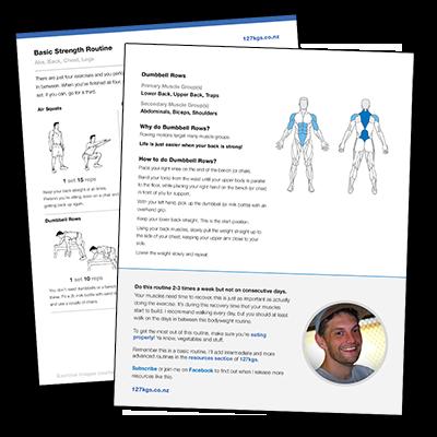 Basic Strength Routine PDF