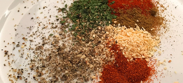 Healthy Fish Taco Recipe - Spice Mix