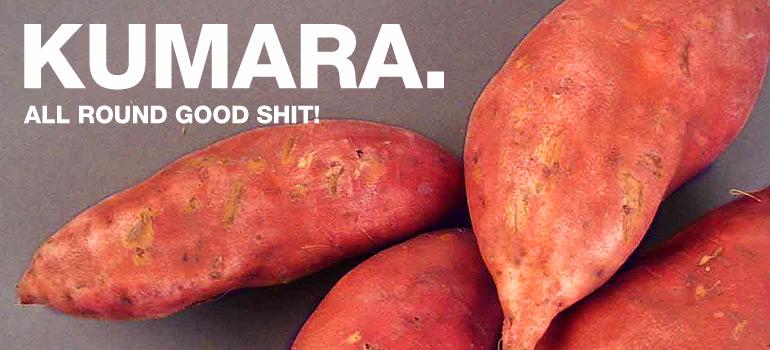 A healthy kumara recipe